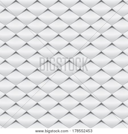 Abstract white / gray pattern background vector illustration