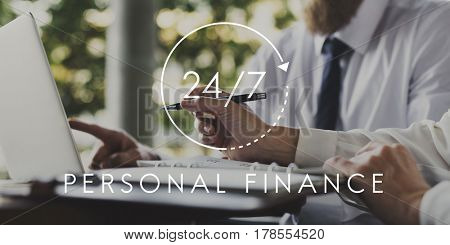 24/7 Help desk for personal finance overlay