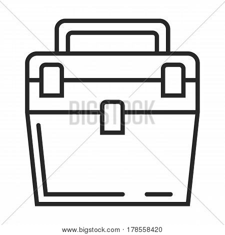 Box For Fishing Vector Icon