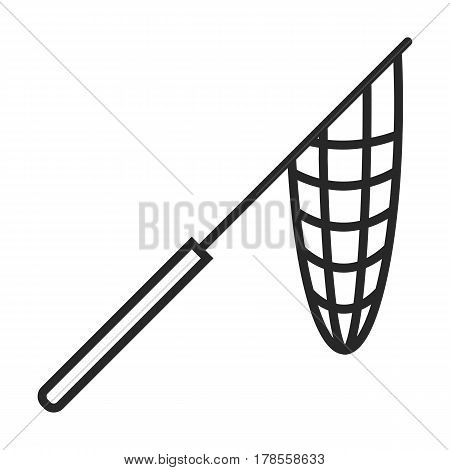 Net Fishing Vector Icon