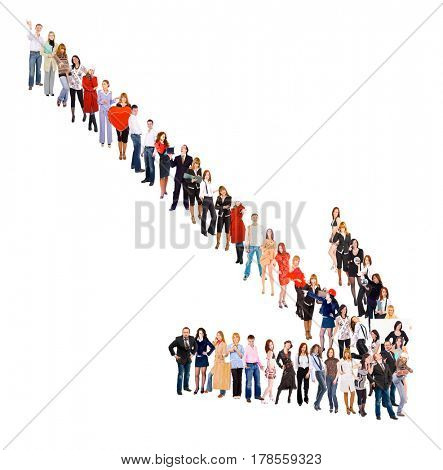 Isolated Groups Together we Stand