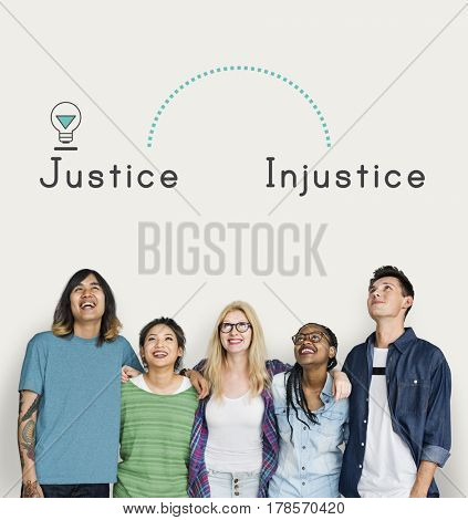 Antonym Opposite Justice Injustice Fairness Unfair