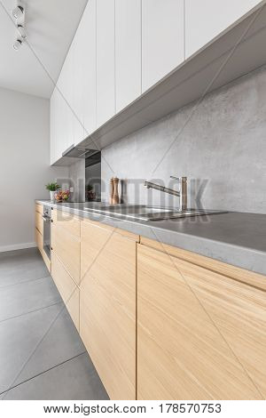 Contemporary Wooden Kitchen Furniture