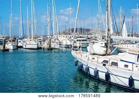 Marina Rubicon, Playa Blanca, Lanzarote