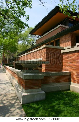 Frank Lloyd Wright'S Robie House, Vertical Angled