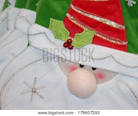 Hand Sewn Santa Dolls  for Christmas Decorations