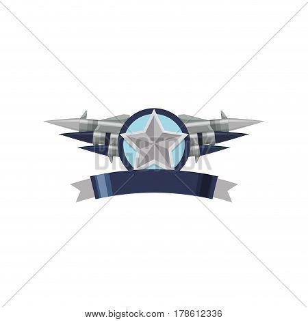 Star medal symbol vector illustration graphic design