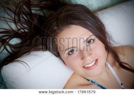 Brunettes portrait