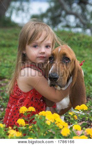 Girl And Dog1