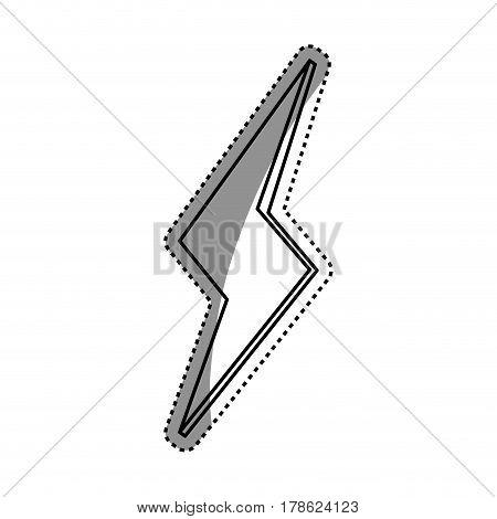 Ray energy symbol vector illustration graphic design