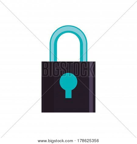 Padlock security device vector illustration graphic design