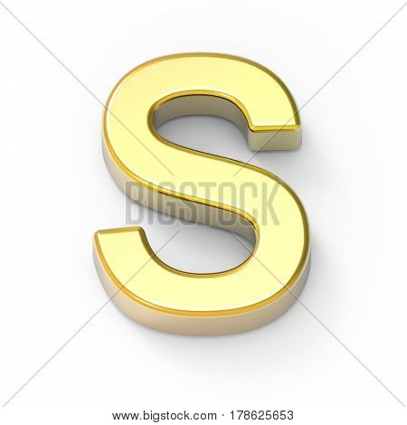 Matte Gold Font S
