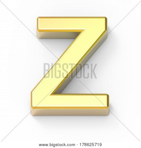 Matte Gold Font Z