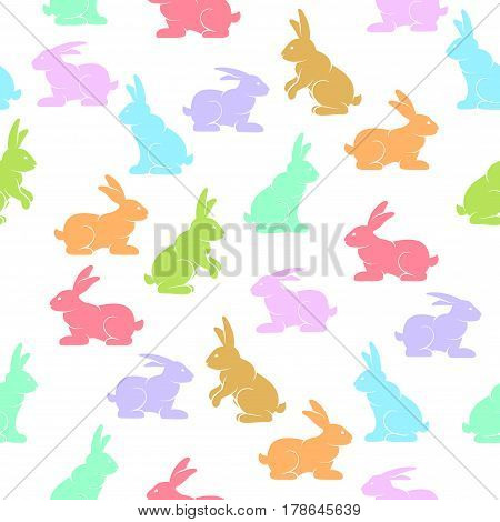 Rabbits Background Color