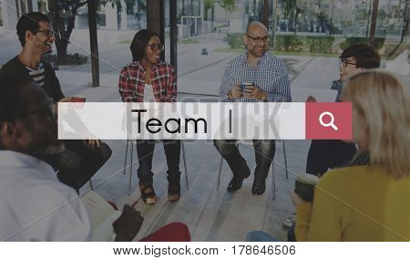 Teamwork Collaboration Team Graphic Word