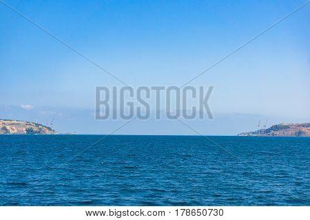 Black Sea Entrance From Bosporus. Turkey