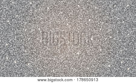 Abstract shiny silver glitter background. Bright substrate, a template for greeting cards, advertisements, invitations and any of your design.