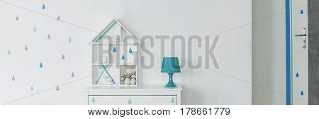 Doll House And Lamp