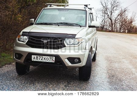 Uaz Patriot On The Road, Mid-size Suv