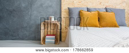 King-size Bed In Bedroom