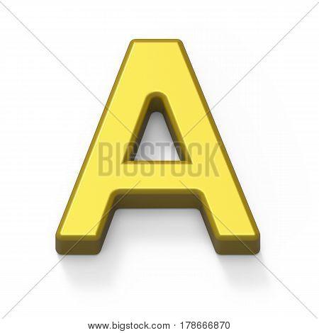 Matte Gold Font A