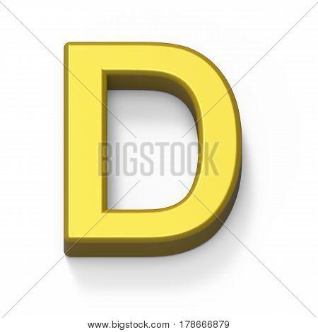 Matte Gold Font D