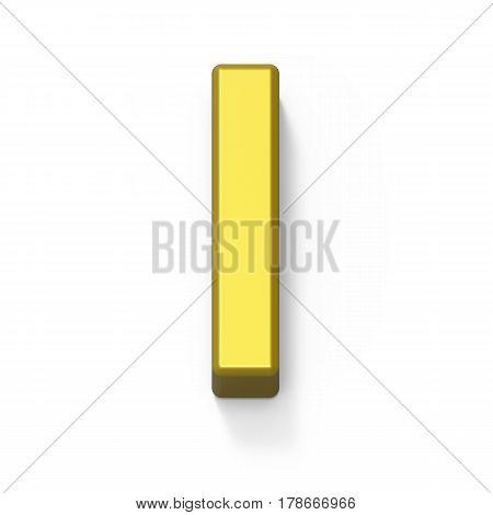 Matte Gold Font I