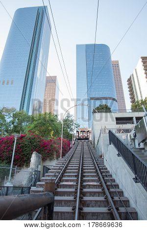 Angels Flight, Historic Rail Way, Downtown Los Angeles
