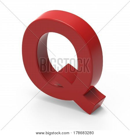 Smooth Red Font Q