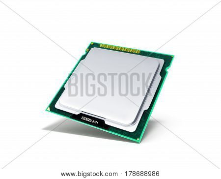 Computer Processors Cpu High Resolution 3D Render