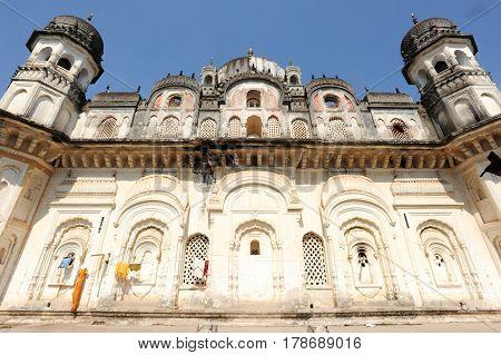 Ancient Chhatri Building At Khajuraho