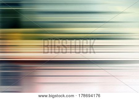 Graduated blue and green speed blur background