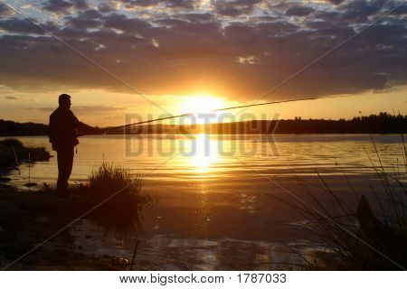 In The Evening On Fishing
