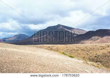 Foot Path To Papagayo Beaches, Lanzarote