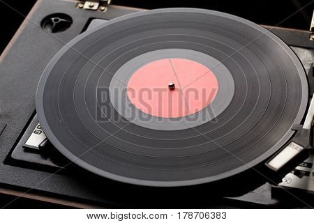Picture of old music player