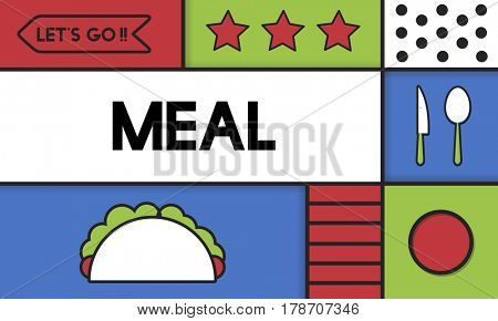 Food Preparation Lifestyle Meal Illustration