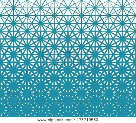 Geometric Triangle Halftone Minimal Pattern Vector Background