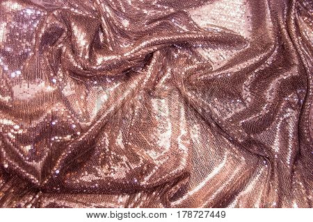 Colorful, luxury violet, purple, pink, violet sequins background Gold sparkle glitter background