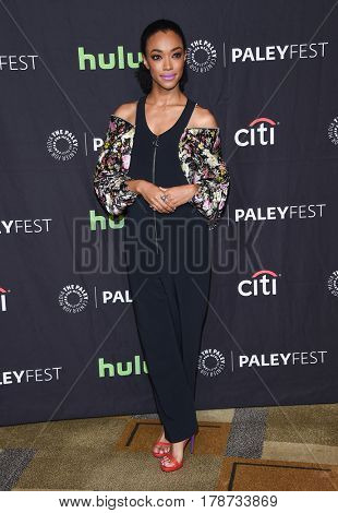 LOS ANGELES - MAR 17:  Sonequa Martin-Green arrives for the PaleyFest 2017-The Walking Dead on March 17, 2017 in Hollywood, CA