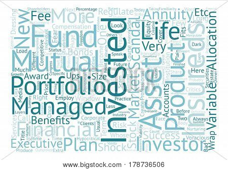 Investment Scandals Scams What s Next text background wordcloud concept