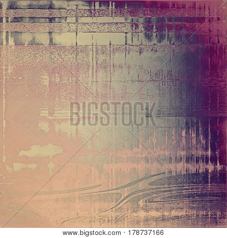 Colorful designed grunge background. With different color patterns: yellow (beige); gray; purple (violet); pink