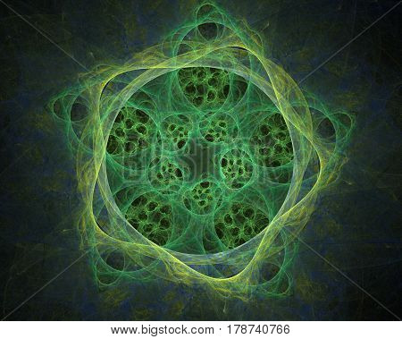 Abstract Symmetrical Fractal