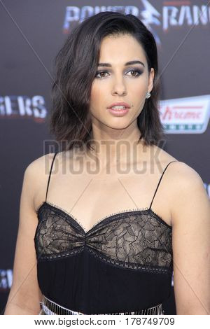LOS ANGELES - MAR 22:  Naomi Scott at the Lionsgate's