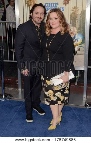 LOS ANGELES - MAR 20:  Ben Falcone, Melissa McCarthy at the