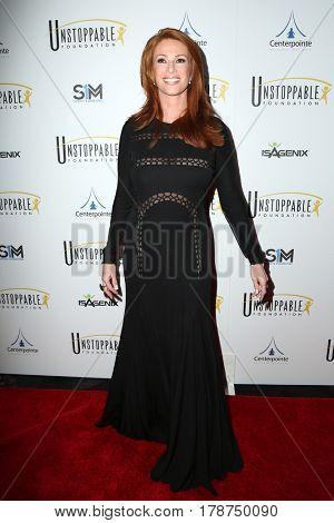 LOS ANGELES - MAR 25:  Angie Everhart at the Unstoppable Foundation Gala at the Beverly Hilton Hotel on March 25, 2017 in Beverly Hills, CA