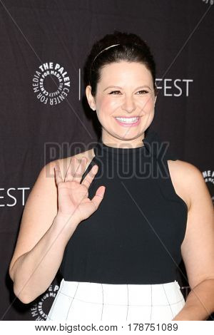 LOS ANGELES - MAR 26:  Katie Lowes at the 34th Annual PaleyFest Los Angeles -
