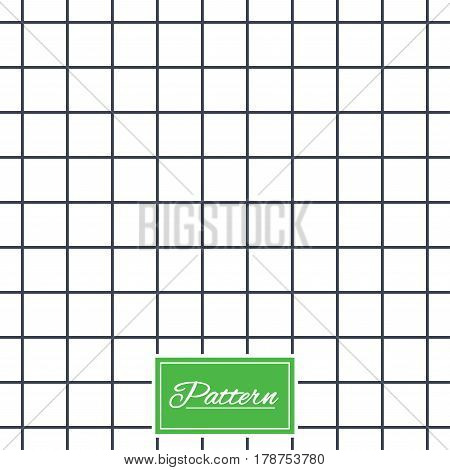 Cell grid texture. Stripped geometric seamless pattern. Modern repeating stylish texture. Abstract minimal pattern background. Vector