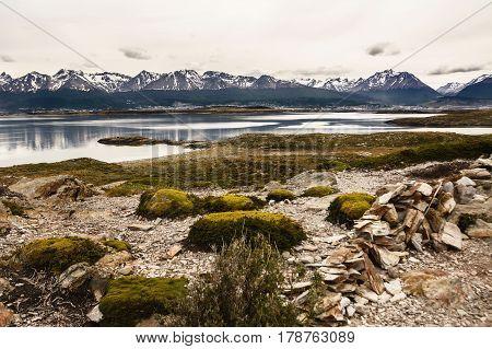 A Landscape in Tierra del Fuego (Argentina)
