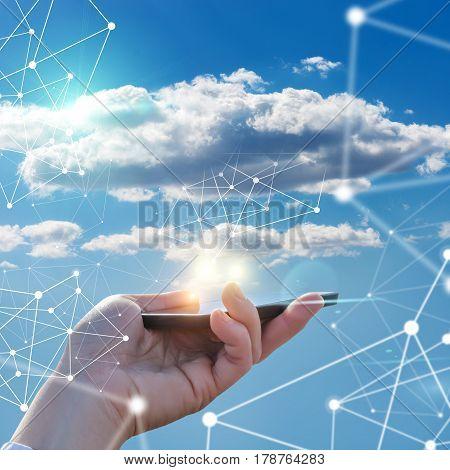 Phone Calls And Cloud Data .