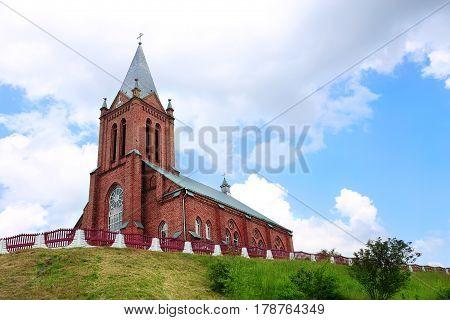 Catholic Church in Belarus. Belarus, Catholic cathedral